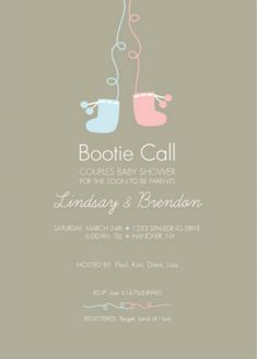 10 Baby Shower Invites That Are Totally Fridge-Worthy via Brit + Co.