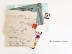 Letters just have a romance, a shared experience, and a learning that can't be replicated through email.