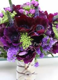 Purple, voilet and burgandy http://www.purebotanics.co.uk/images2/purple-anenome-wedding-bouquet.jpg