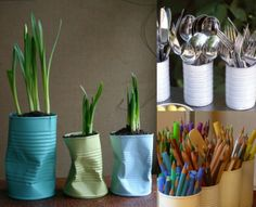 21 Simple Tin-Can Craft Ideas - Sortrature