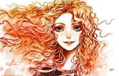 BRAVE: Princess Merida Tribute by PrincessElemmiriel.deviantart.com