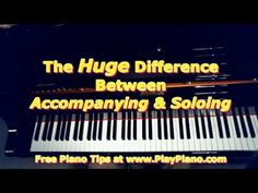 How to Accompany on the Piano | Piano Lessons for Adults