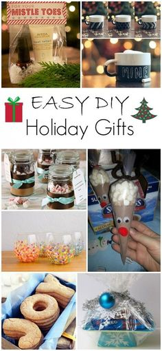 Easy and DIY Holiday Gifts (or anytime gifts!!) from Princess Pinky Girl