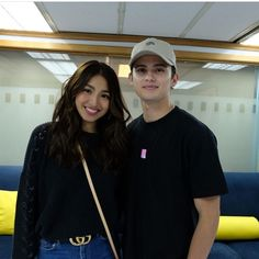 Lovebird at Viva HQ (vivaartistagency ) Lady Luster, Filipina Beauty, James Reid, Nadine Lustre, Jadine, Partners In Crime, Sweet Couple, Man Crush, Filipino