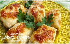 Como preparar um delicioso rolinho de filé e frango com fotos do passo a passo!!!