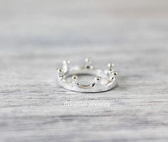 < Filigraner Kronen Ring > von minimaljewellry auf DaWanda.com