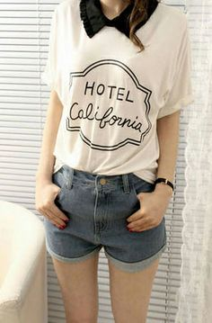 Refreshing Style Loose-Fitting Flouncing Collar Letter Printed Short Sleeves T-Shirt For Women (WHITE,ONE SIZE)   Sammydress.com