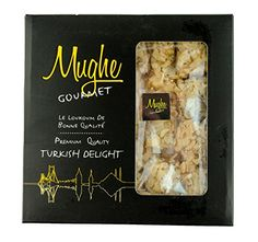 Luxury Nut Clusters w Honey  Turkish Delight w Peanuts  Hazelnut  Gourmet Gift Box  Taste the Unique Natural ORIGINAL Most Prestigious Turkish Delight  1215 BIG Pieces16 Oz  Mughe Gourmet ** See this great product.
