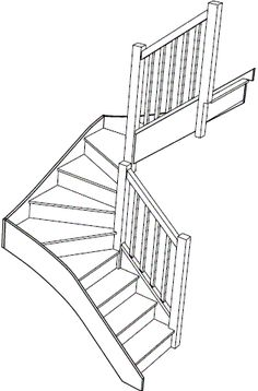 S3W3W33N Winder Staircase Right Handed