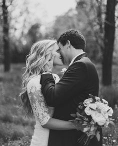 They look so in love. Must have wedding photo