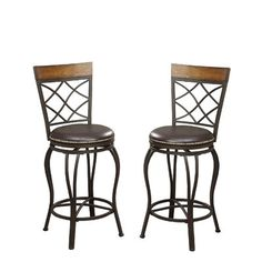 Good price Bobkona Lorelei 24 Swivel Bar Stool (Set of By Poundex Tall Bar Stools, Counter Bar Stools, Swivel Bar Stools, Bar Chairs, High Chairs, Swivel Chair, Room Chairs, Blue Velvet Dining Chairs, Cushions For Sale