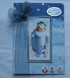 the snowman cards - Google Search