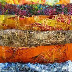 K. S'ra ribbon scarves