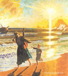 After the storm--Jens Ferdinand Willumsen--Museum Quality Reproduction!