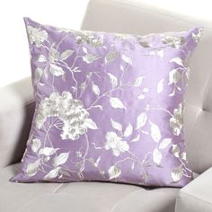 Lilac Blossom Pillow