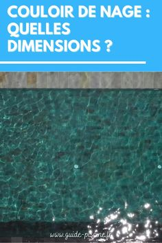 Couloir de nage : quelles dimensions choisir pour ce type de piscine ? On vous guide pour la construction d'un couloir de nage dans votre jardin. #couloir #nage #piscine #dimensions Guide, Dimensions, Construction, Outdoor Decor, How To Build, Building