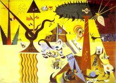 Хуан Миро. Возделанная земля. 1923 год