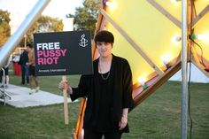 Romy from The xx joins amnesty and 100 other artists to show support for #FreePussyRiot. Join her in signing our petition now: www.amnesty.org/freepussyriot