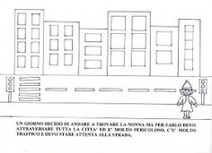 Maestra Mariangela: I QUATTRO CAPPUCCETTI : ROSSO,GIALLO,BLU E VERDE ( SCHEDE) Floor Plans, Diagram, Winter Time, Green, Storytelling, Floor Plan Drawing, House Floor Plans