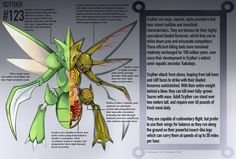 Scyther Anatomy- Pokedex Entry by Christopher-Stoll on DeviantArt