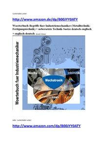 german-english dictionary mechanics
