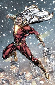 Shazam Comic, Captain Marvel Shazam, Comic Art, Comic Books, Marvel Images, Univers Dc, Dc Comics Characters, Detective Comics, Dc Heroes