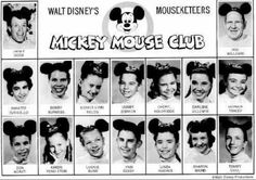 mickey mouse club - Google Search