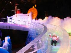 "Ticket to ""The Ice Kingdom"" at Queen Mary's CHILL"