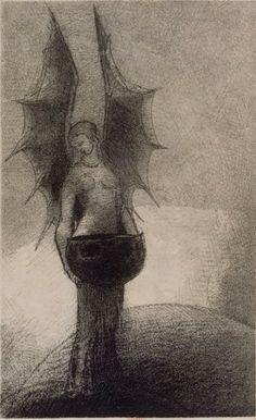 Odilon Redon - lithographs