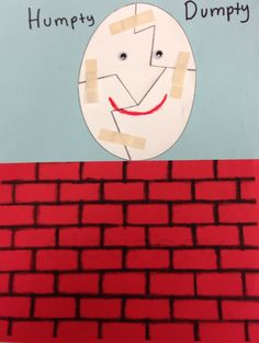 Humpty dumpty craft puzzle crafts humpty dumpty and for Humpty dumpty puzzle template