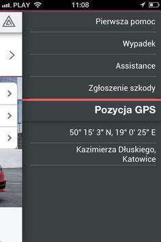 Aplikacja dla dealera #Skoda - pozycja GPS.  #dealershipapps #mobileapps #aplikacjewebowe