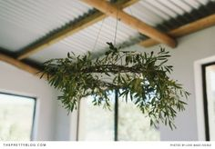 opus florist cape town olive branch wreath via Gardenista Bunting, Olive Branch Wedding, Olive Wedding, Mobiles, Deco Floral, Farm Wedding, Tuscan Wedding, Home Improvement Projects, Wonders Of The World