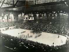 Maple Leaf Gardens on Opening Night in 1931