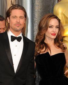 #Oscar #Oscars Brad Pitt e Angelina Jolie.
