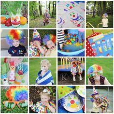 Clown Themed Preschool Activities // Katherine Marie Photography