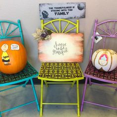Happy fall from Rescued Relics Studio! Come in any time today to paint pumpkins during our Pumpkin Painting Party and message us about our transfer classes if you fancy our festive fall signs! #fall #fallcolors #rescuedrelicsstudio #paintcouture #transfer #transfers #transferclass #paintcouturethecollection #charliebrown #goodgrief #cinderella #darthvader #starwars #deathstar #thankful #fallsigns