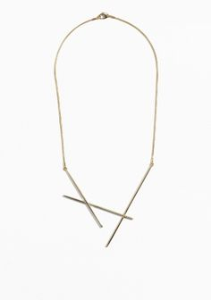& Other Stories | Crisscross Necklace