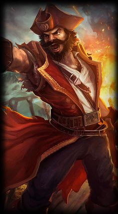 Gangplank the Saltwater Scourge