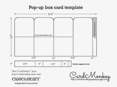 Pop-up Box Card #Tutorial