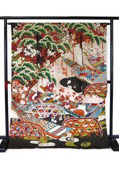 着物の桜 アンティーク『世界でひとつ』振袖襦袢セット k-731_画像2