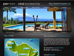 Website Real Estate Desain Terbaik - Maui Lifestyle Properties - Maui, HI Expensive Houses, Luxury Real Estate, Maui, Photo Galleries, Condo, Around The Worlds, Ocean, Island, Marketing
