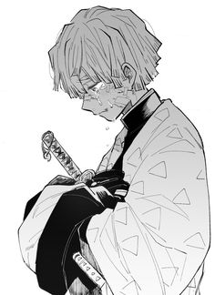 Manga Anime, Sad Anime, Anime Demon, Me Me Me Anime, Anime Guys, Anime Art, Demon Slayer, Slayer Anime, Fanart