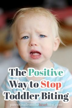 When a toddler bites, parents are often filled with shock, embarrassment, and concern. Parenting from the Heart shares the good news: there are many positive strategies to redirect and ultimately put an end to toddler biting! Read on for helpful advice and tips for a positive parenting approach to toddler biting. #parentingadvice #biting Gentle Parenting, Parenting Advice, Mom Advice, Potty Training Regression, Toddler Behavior, Child Behaviour, Sibling Fighting, Act For Kids, Strong Willed Child