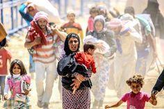 El número total de refugiados sirios supera los 4 millones por primera vez