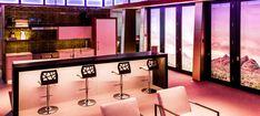Audio Visual Lighting: Acoustic Designs Group Showroom Rgb Led Strip Lights, Strip Lighting, Led Light Projects, Visual Lighting, Light Balance, Acoustic Design, Cutting Tables, Floating Shelves, Showroom