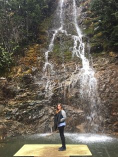 Marwa Popal, a Gilman Spring 2015 Scholar, stands in front of a waterfall in the Black Sea region of Uzongöl, Turkey. The Black Sea is surrounded by six countries: Bulgaria, Georgia, Romania, Russia, Turkey, and Ukraine, eventually flowing to the Aegean and Mediterranean Seas. #StudyAbroad #Turkey #GilmanScholarship #Gilman
