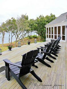 Cape Cod Beach House Tour - Thistlewood Farm Like this. Beach Cottage Style, Cottage Style Homes, Coastal Cottage, Coastal Homes, Coastal Living, Beach House Deck, Beach House Tour, Cape Cod Beaches, Thistlewood Farms