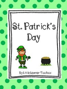 St Patricks Day Fun Facts & Activities FREEBIE