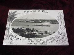 vintage rpp uss spinax 489 tench class submarine souvenir of cuba postcard