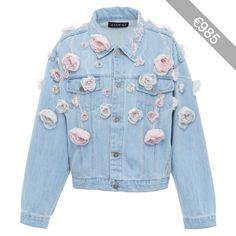 Anouki Floral Denim Jacket